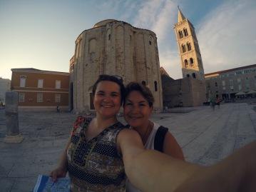 La iglesia mas antigua de Zadar
